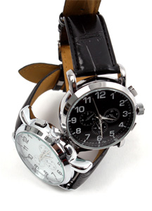 2993 - A165 / Flow leather watch <br> (2 color) <br>