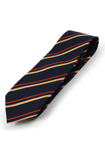3016 - A167 / simple Stripe tie <br> (1 color) <br>