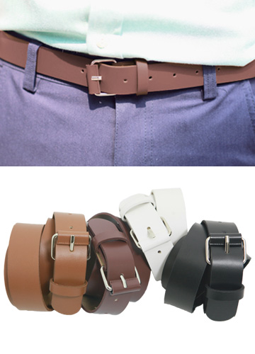 7121 - simple Basic 4 colors Belt <br> (4 color) <br>