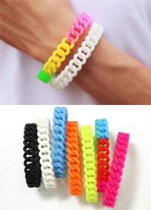 7704 - Rainbow Jelly Bracelet <br> (7 color) <br>