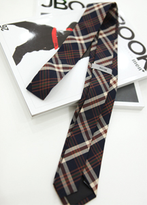 3298 - A194 / Multi Check Tie <br> (1 color) <br>