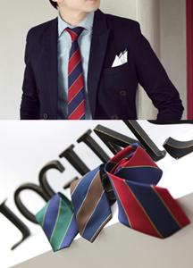 3333 - A197 / simple stripe tie <BR> (3 color) <br>