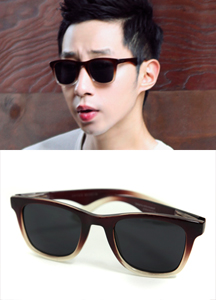 12947 - Burning two tone Sunglasses <br> (1 color) <br>