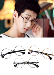 13155 - Sherlock Horn glasses <br> (3 color) <br>