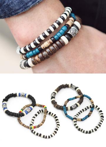 13178 - Indian three-piece set bracelet <br> (2 color) <br>
