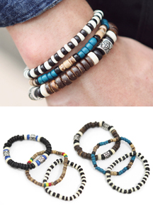 13178 - Indian three-piece set bracelet <br> (2 color) <br>