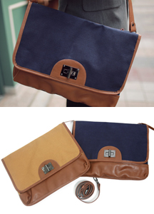 13448 - Double face cross bag <br>