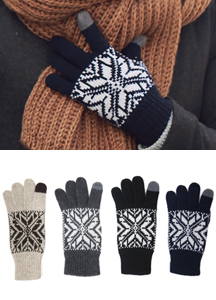 13601 - Smart touch snow gloves <br> (4 color) <br>