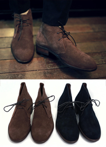 13824 - Suede Basic Chuck Boots <br> (10 mm) <br>