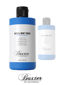 14155 - BAXTER <br> Herbal Mint Toner 300ml