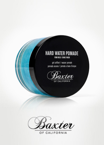14160 - BAXTER <br> Hard drive Water Pomade 60ml