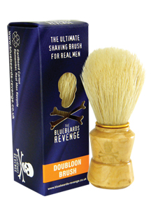 14163 - BLUE BEARD'S REVENGE <br> Wooden Handle Double Run Brush