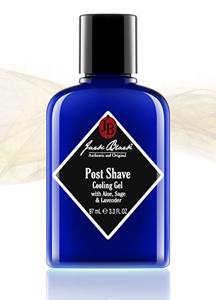 14166 - JACK BLACK <br> poster Shave Cooling Gel 97ml