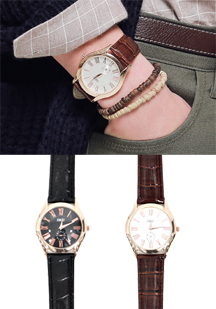 14220 - Rose gold watch <br> (2 color) <br>