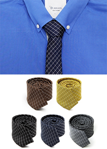 14989 - Windows Paycheck Tie <br> (5 color) <br>