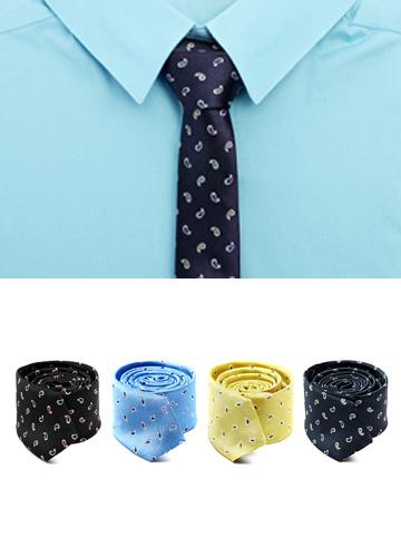 15018 - Paisley Patterns Tie <br> (4 color) <br>