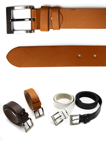 15071 - Slim Basic Belt Belt <br> (4 color) <br>
