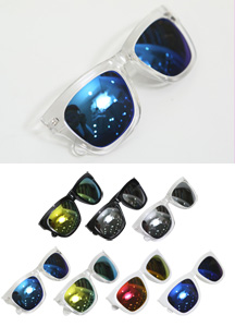 15228 - Colorful Mirror Sunglasses <br> (7 color) <br>