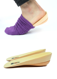 4120 - 2.5 cmUP! <br> Hidden Magic Insole <br> (Sole Sock Insole ~ in socks) <br> (1 color) <br>