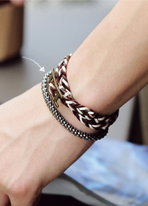 15384 - Silbus simple bracelet <br> (1 color) <br>