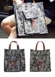15399 - Camouflage Todd & cross bag <br>