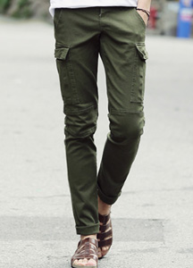 15530 - Slim Pocket Cargo Pants <br> (3 isze) <br>