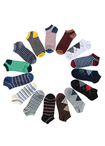 15551 - Style good ankle sock <br> (15 color) <br>