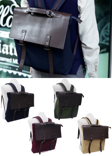 15783 - Classic Square BackPack <br>
