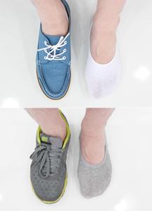 5374 - Basic Hidden Socks ★ <br> (3 color) <br>