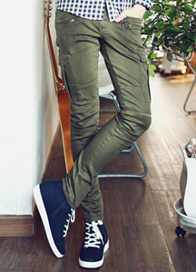 16650 - European oil washing cargo pants <br> (4 size) <br>