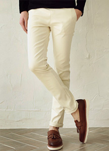 16697 - four seasons Banding simple cotton pants <br> <font style=font-size:11px;color:#595959>28/30/32/34</font> <br>