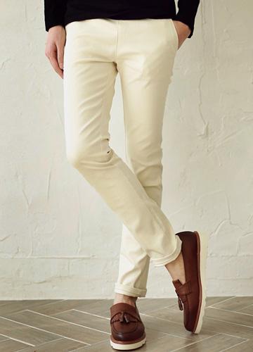 16697 - four seasons Banding simple cotton pants <br> <font style=font-size:11px;color:#595959>28/30/32/34</font> <br>