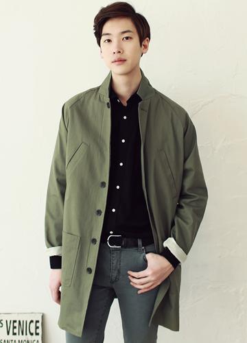 16706 - Solid raglan raincoat <br> (3 color / 1 size) <br>