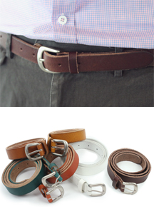 5577 - Cork leather belt <br> (6 colors) <br>