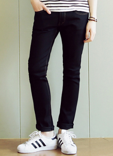 16957 - 4 season Basic denim pants <br> (8 size) <br>