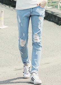 17109 - Trendy Distro Denim Pants <br> (3 size) <br>