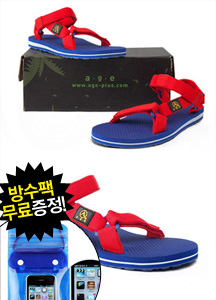 17322 - [AGE] <br> Age Sandals RED (Age Core Sandal) <br> age-s-15-018 <br>