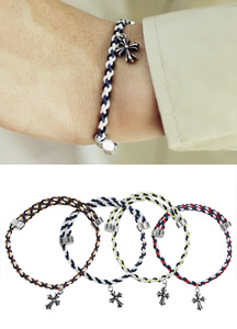 17996 - 3Color mix adjustable bracelet <br> (4 color) <br>