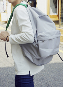 18037 - Colored casual backpack <br>