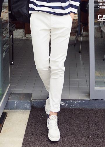 18078 - Basic Color cotton pants <br> <font style=font-size:11px;color:#595959>28/30/32/34</font> <br>