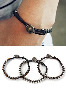 18091 - Healing Stone Bracelet <br> (3 color) <br>