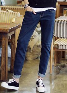 18132 - simple line basic washing denim jeans <br> (5 size) <br>