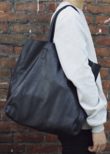 18215 - Simpli leather toddler bag <br>
