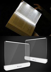 18255 - LED panel book light <br> (1 color) <br>