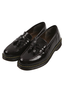 18305 - <b>5cmUP!</b> <br> Glossy Tester Loafers <br> (10 mm) <br>
