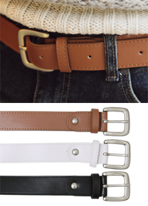 6196 - Antique buckle Belt <br> (3 color) <br>