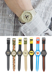 18397 - WB Batman Watch <br> (7 color) <br>
