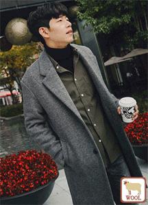 18579 - [HONZE] <br> Overfit wool coat <br> (4 size) <br>