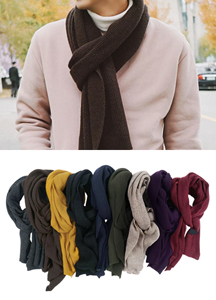 18602 - 9Color Daily Basic muffler <br> (9 color) <br>