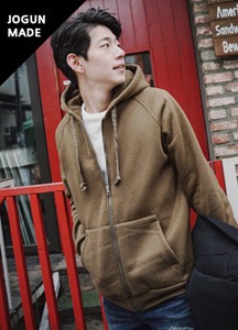 18734 - Rogan raglan napping Hoodies zip up <br> (3 size) <br>